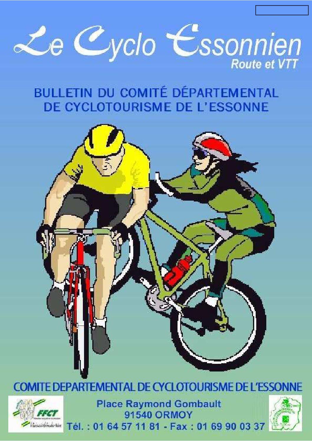 Le Cyclo Essonnien n°01