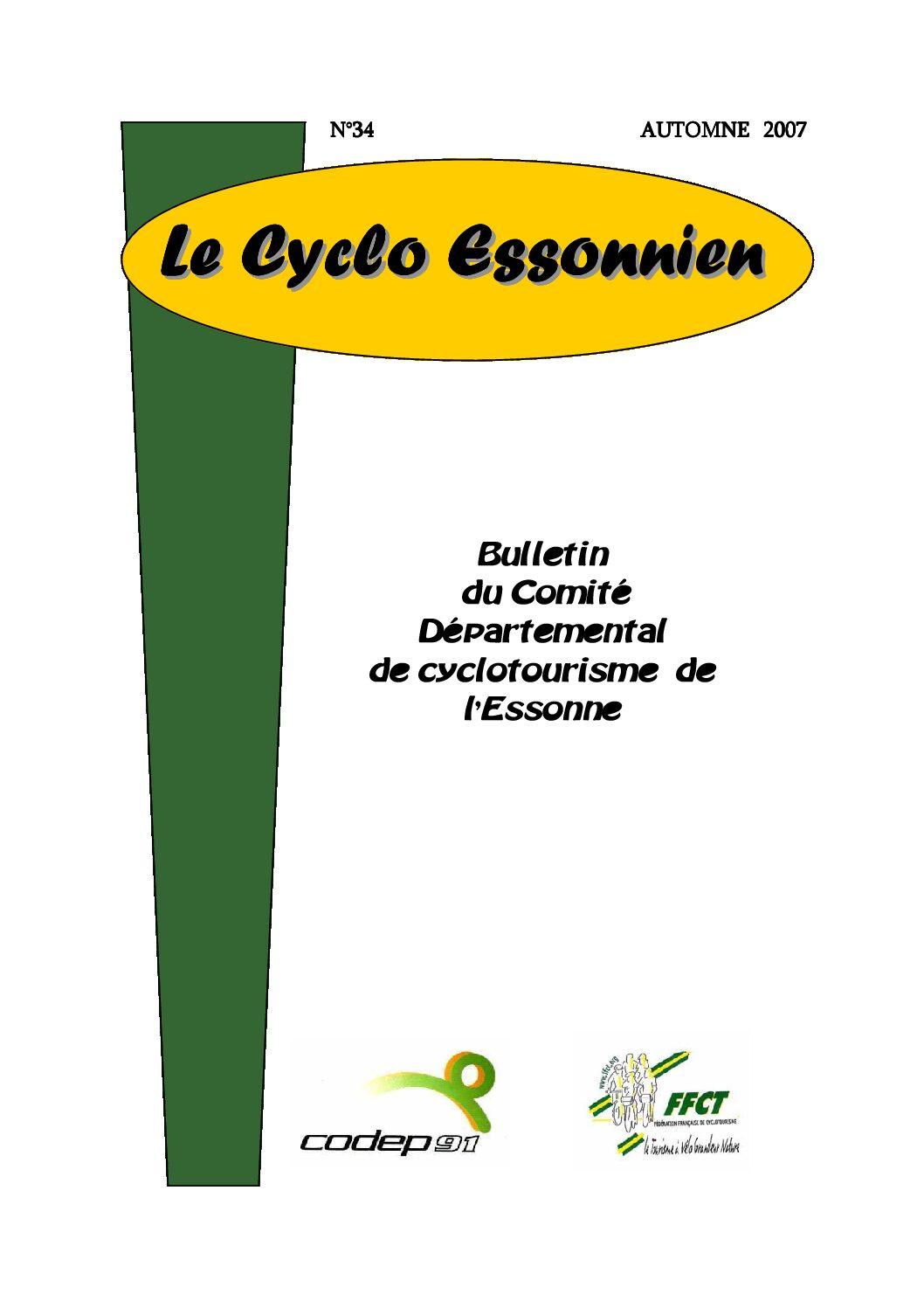 Le Cyclo Essonnien n°34