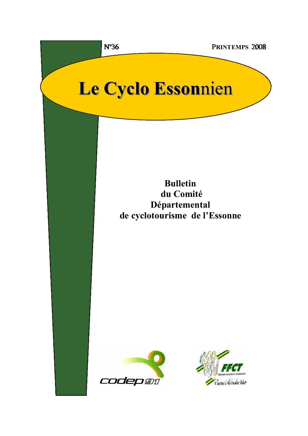 Le Cyclo Essonnien n°37