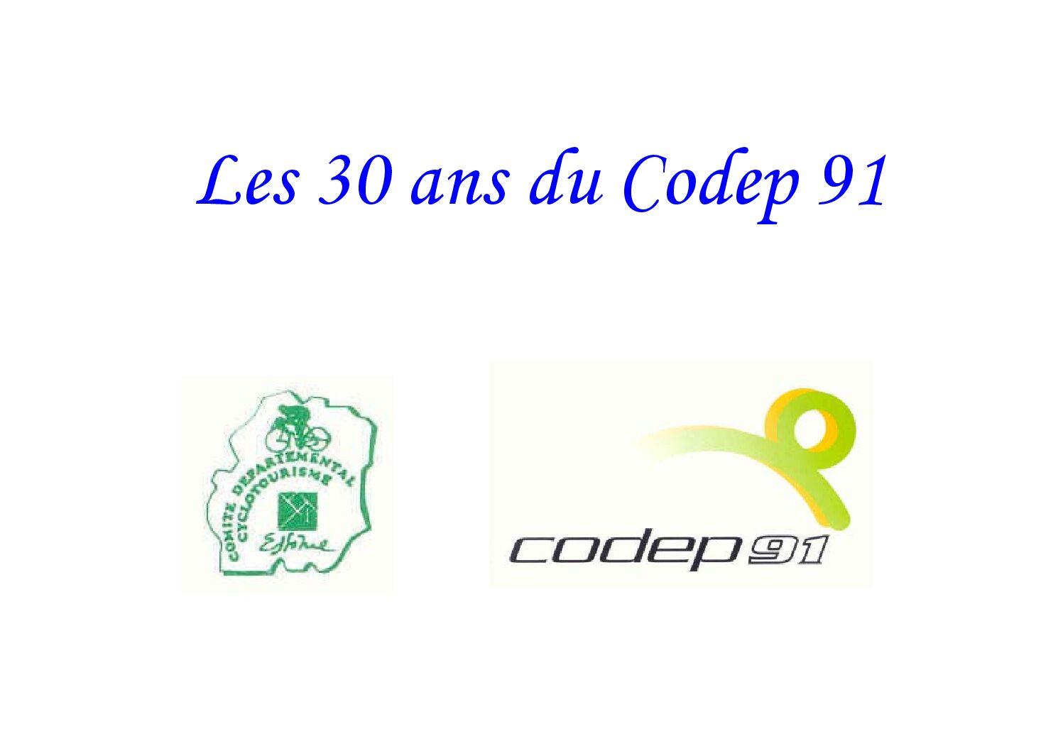 Le Cyclo Essonnien n°40-Hors Série