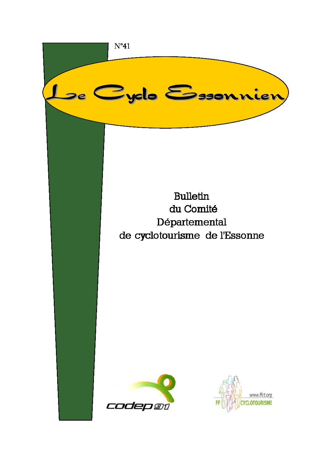 Le Cyclo Essonnien n°41