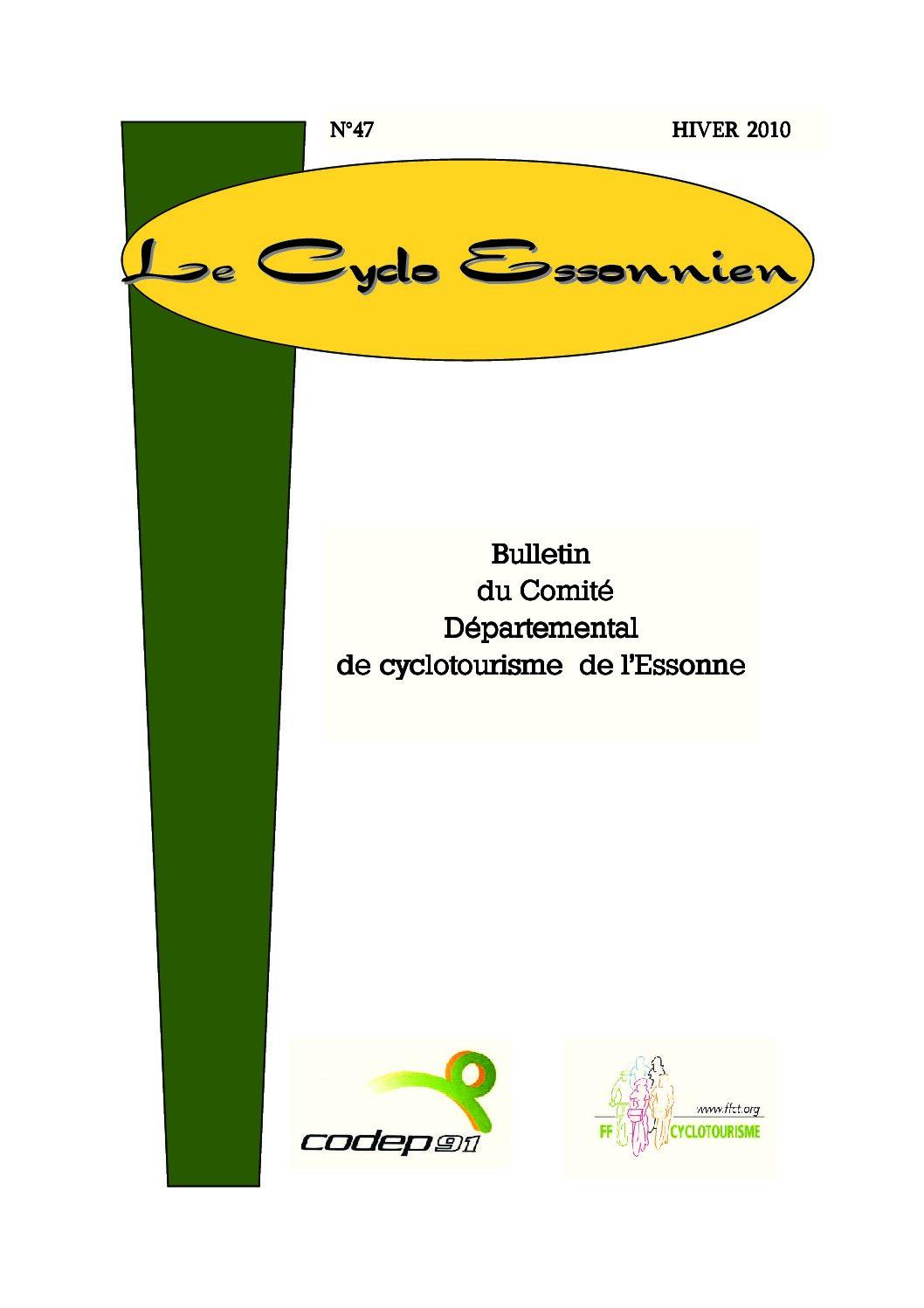 Le Cyclo Essonnien n°47