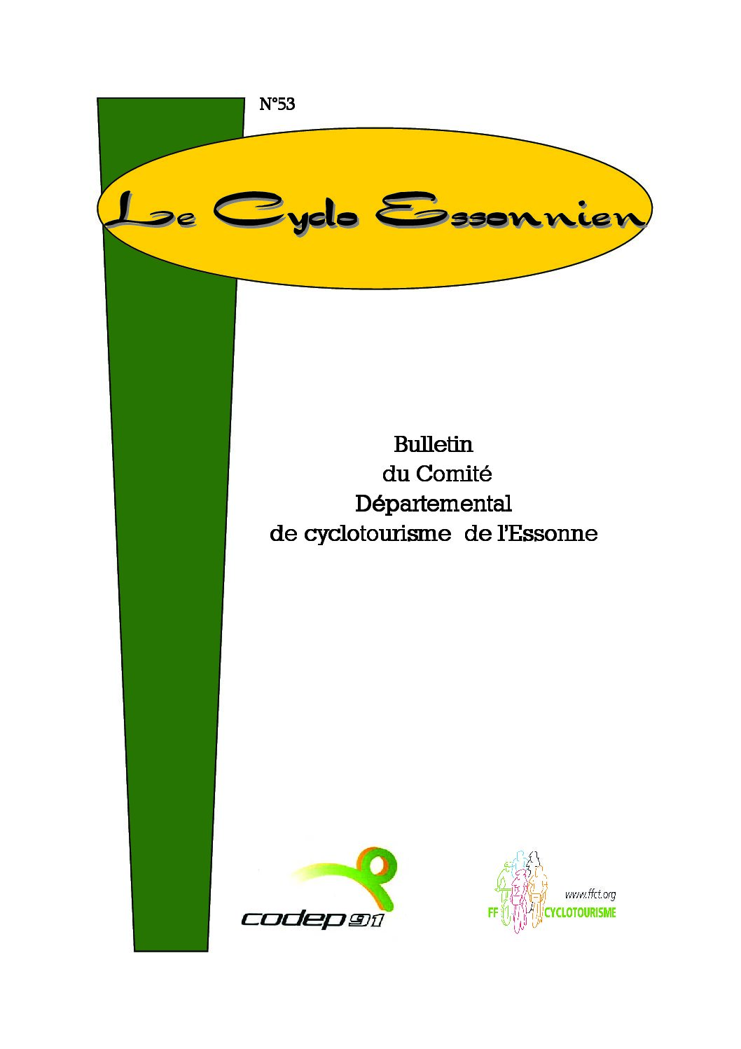 Le Cyclo Essonnien n°53