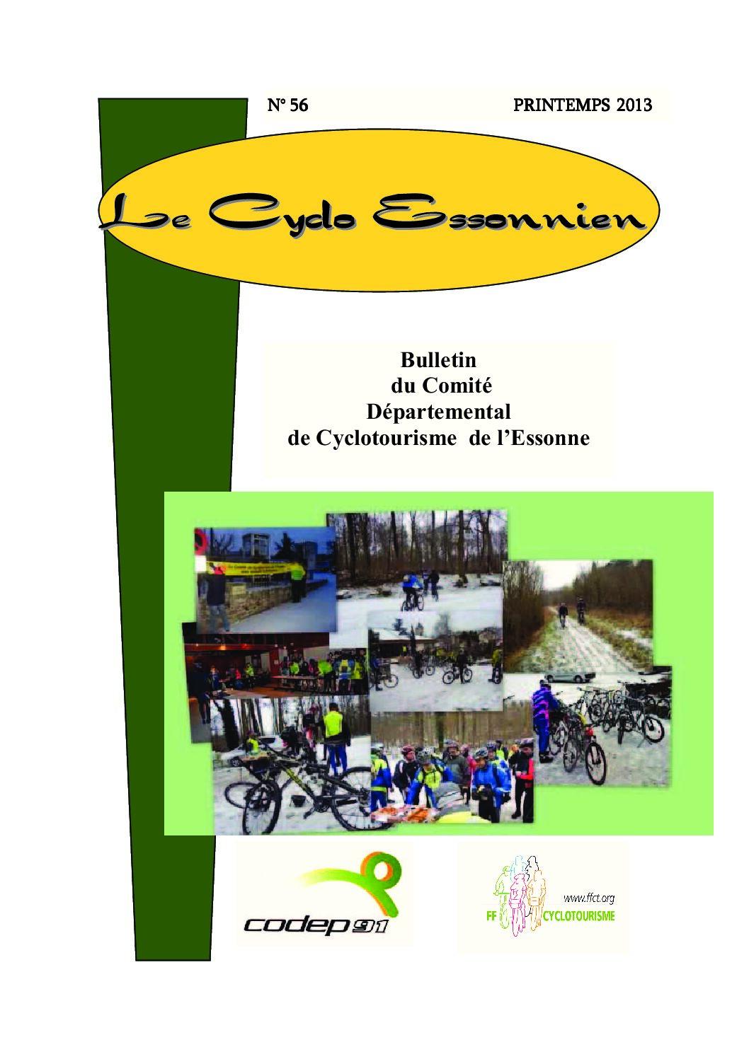Le Cyclo Essonnien n°56