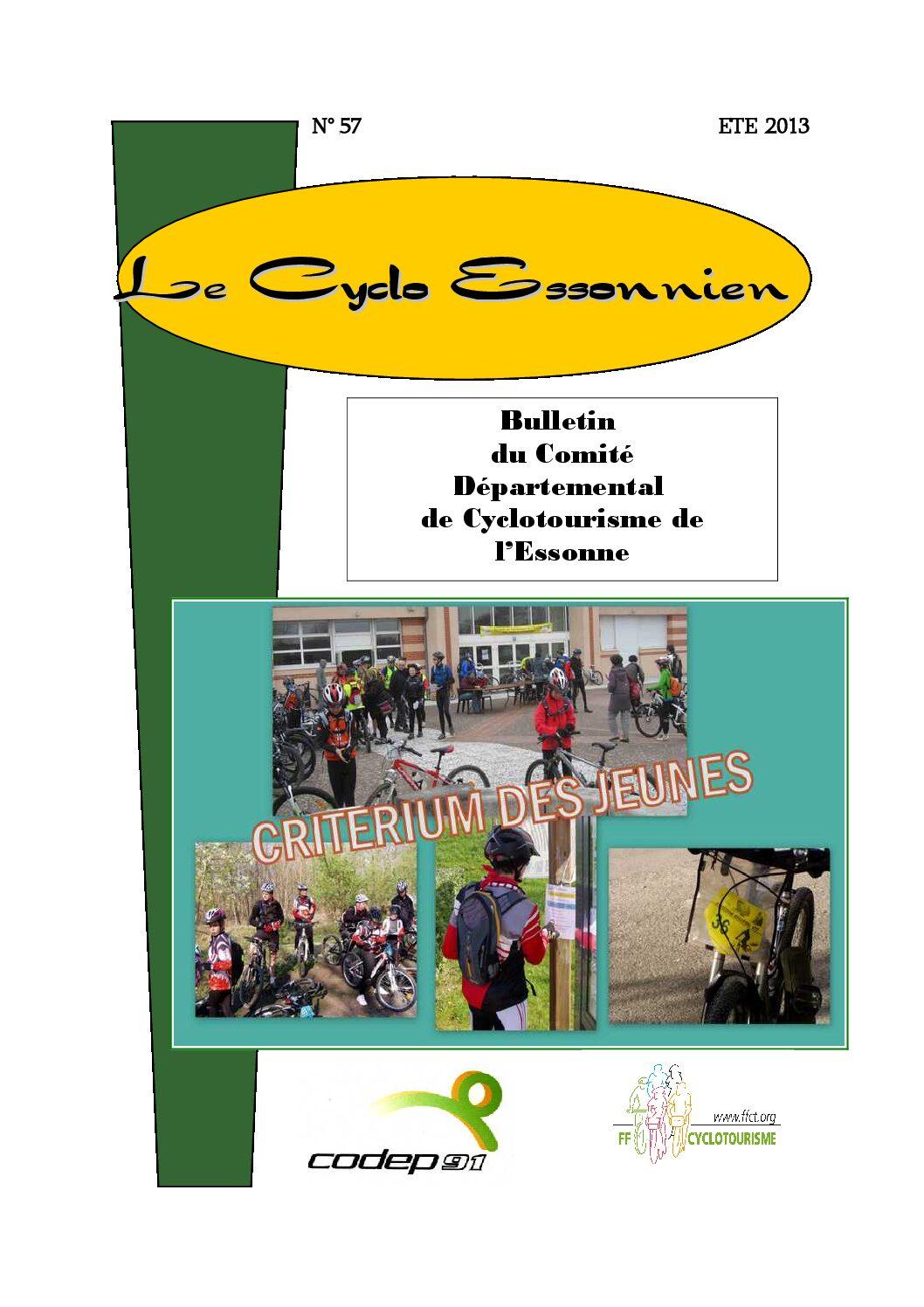 Le Cyclo Essonnien n°57