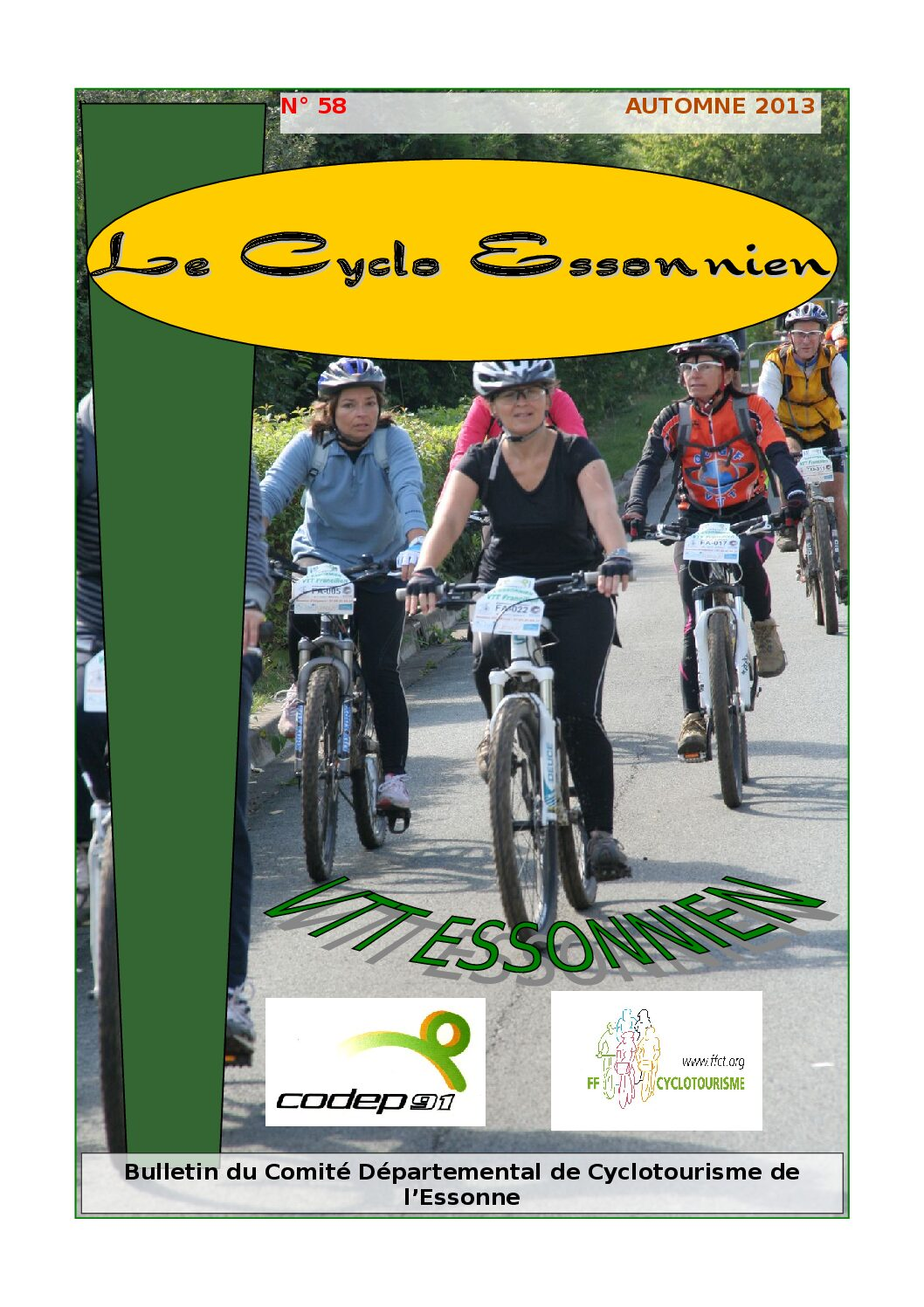 Le Cyclo Essonnien n°58