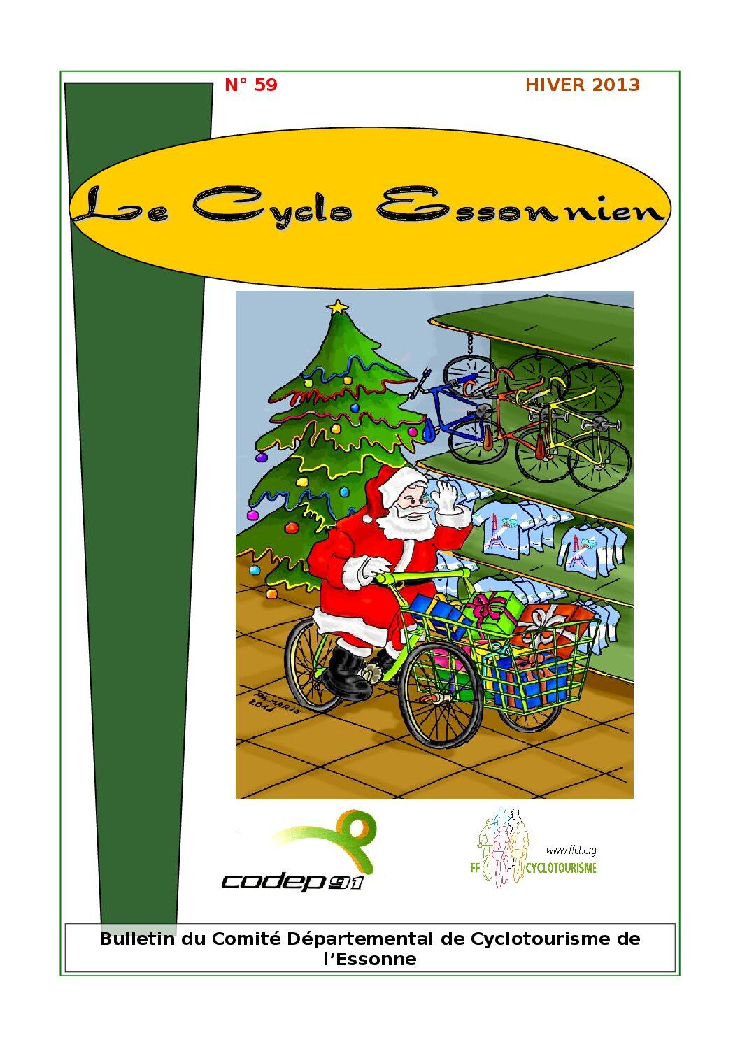 Le Cyclo Essonnien n°59