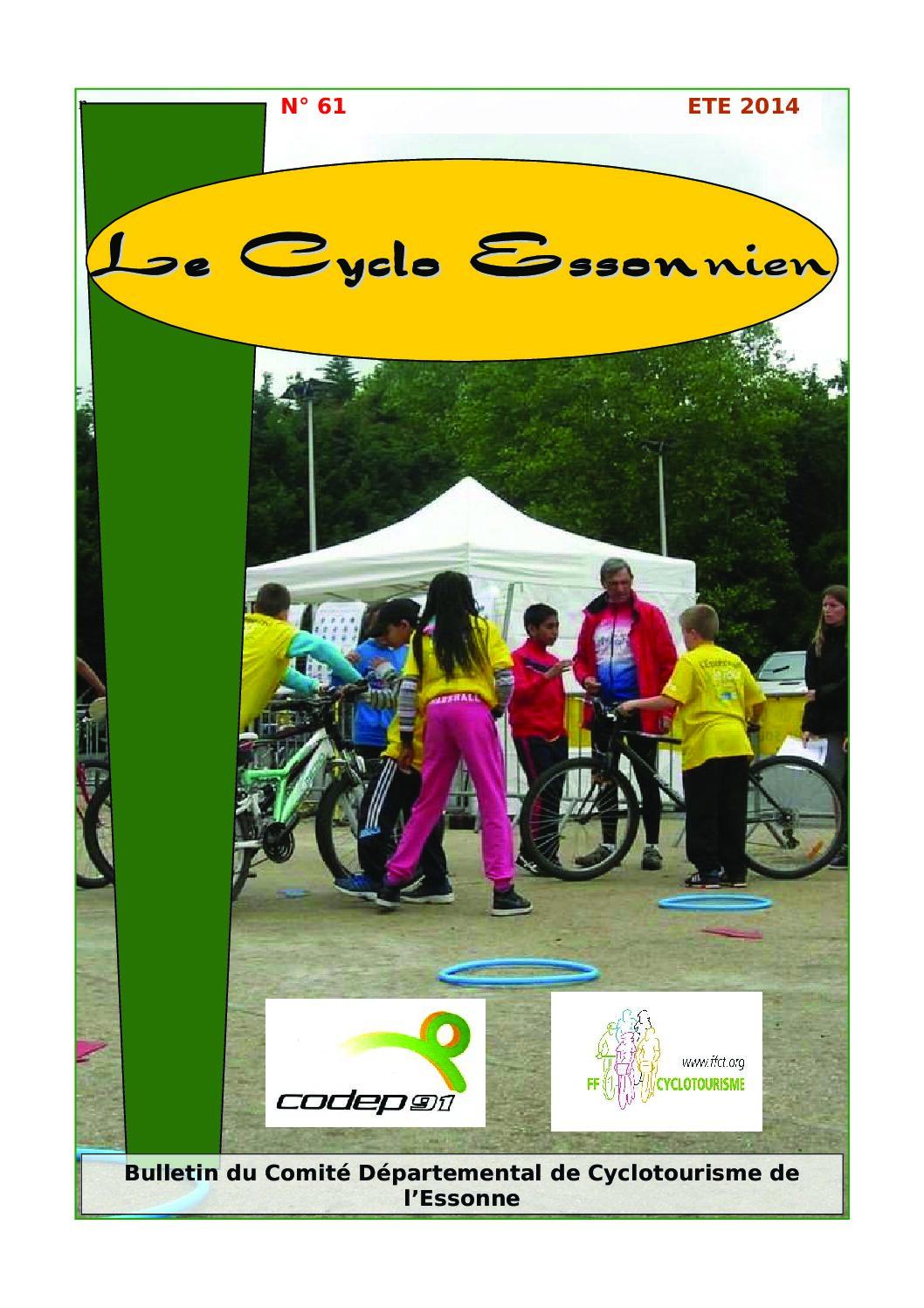 Le Cyclo Essonnien n°61