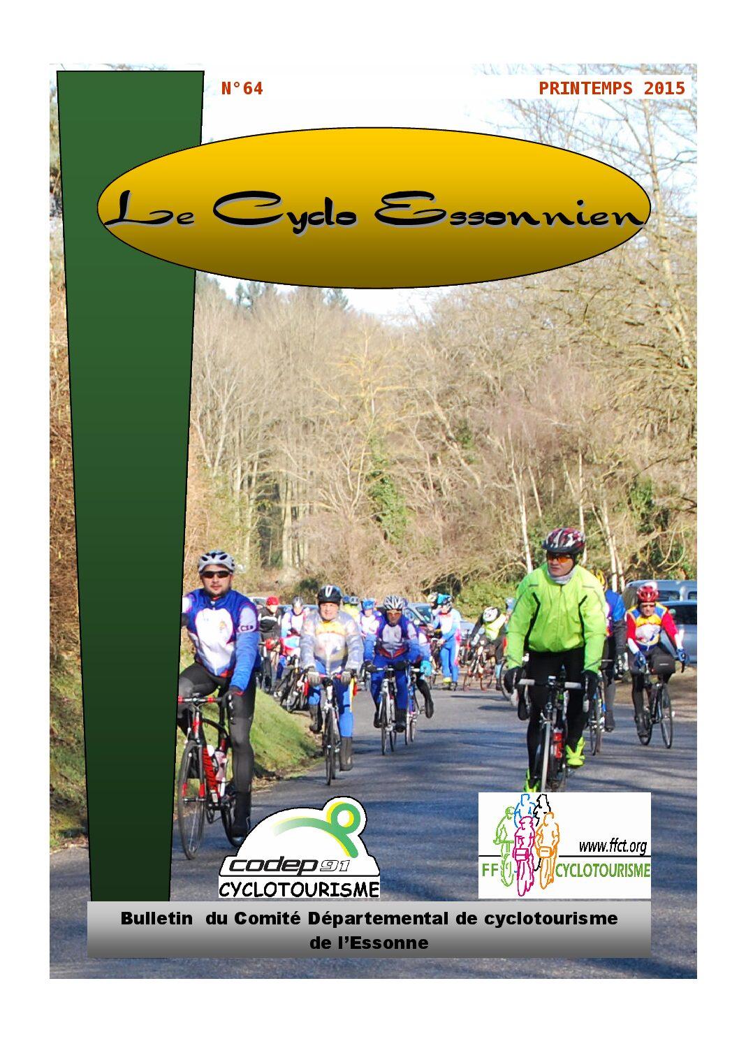 Le Cyclo Essonnien n°64