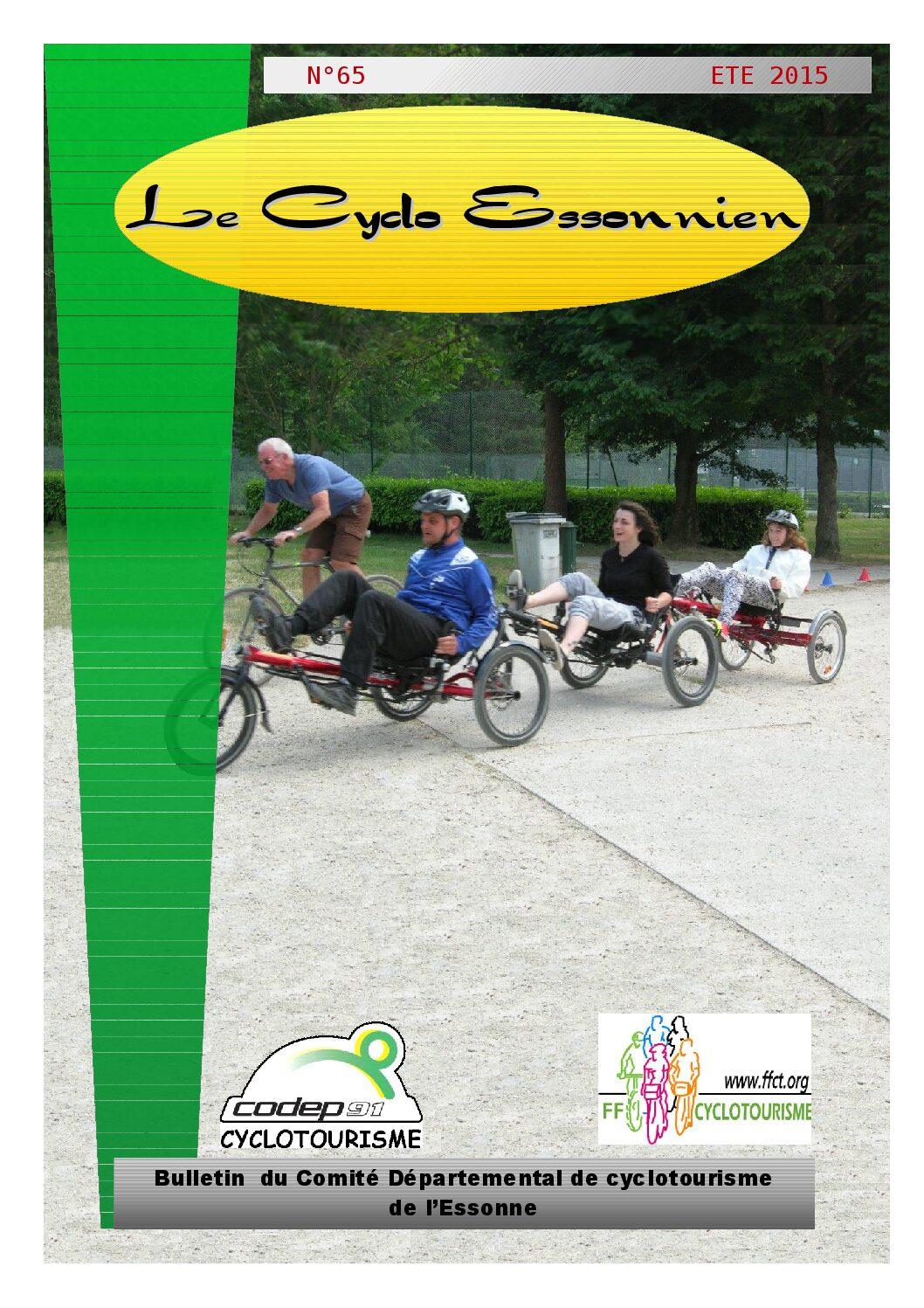 Le Cyclo Essonnien n°65