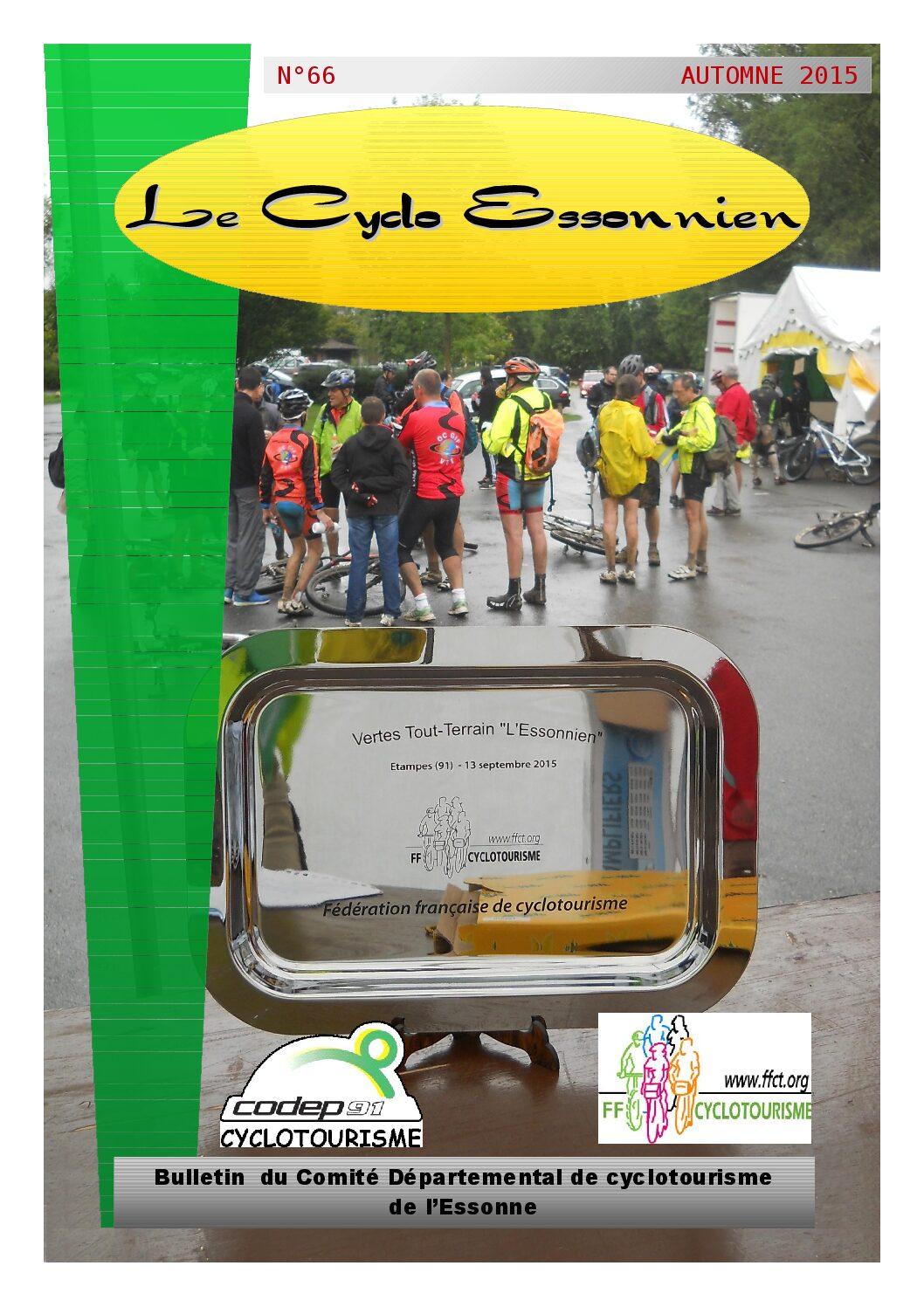 Le Cyclo Essonnien n°66