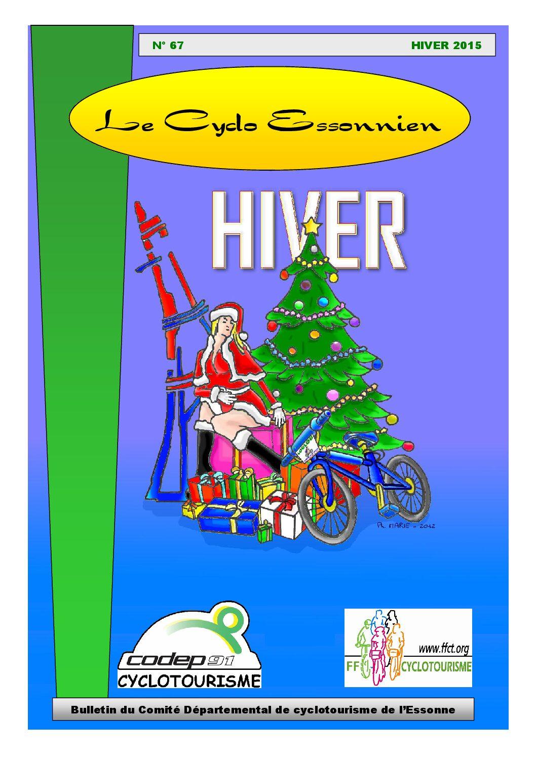 Le Cyclo Essonnien n°67