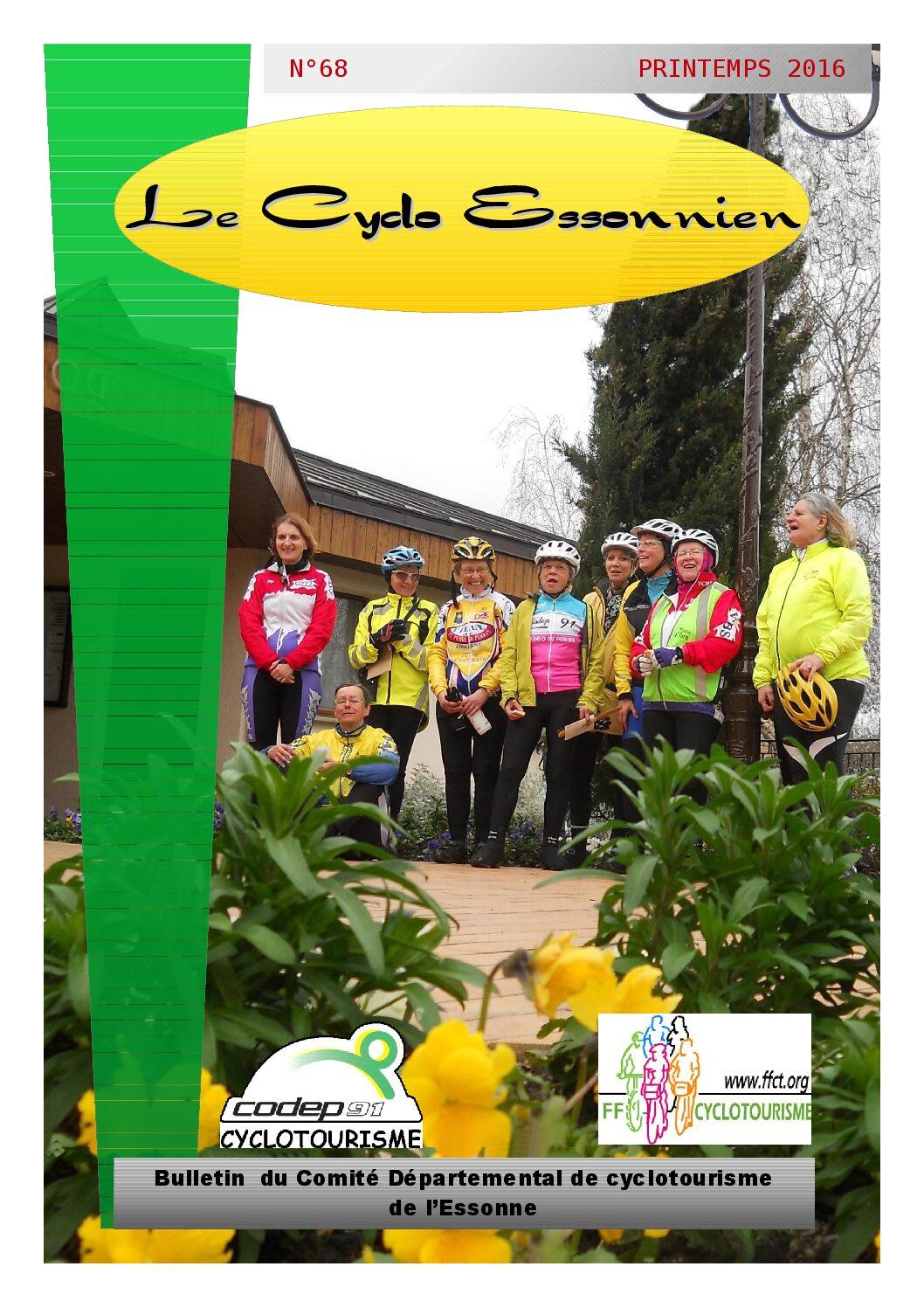 Le Cyclo Essonnien n°68