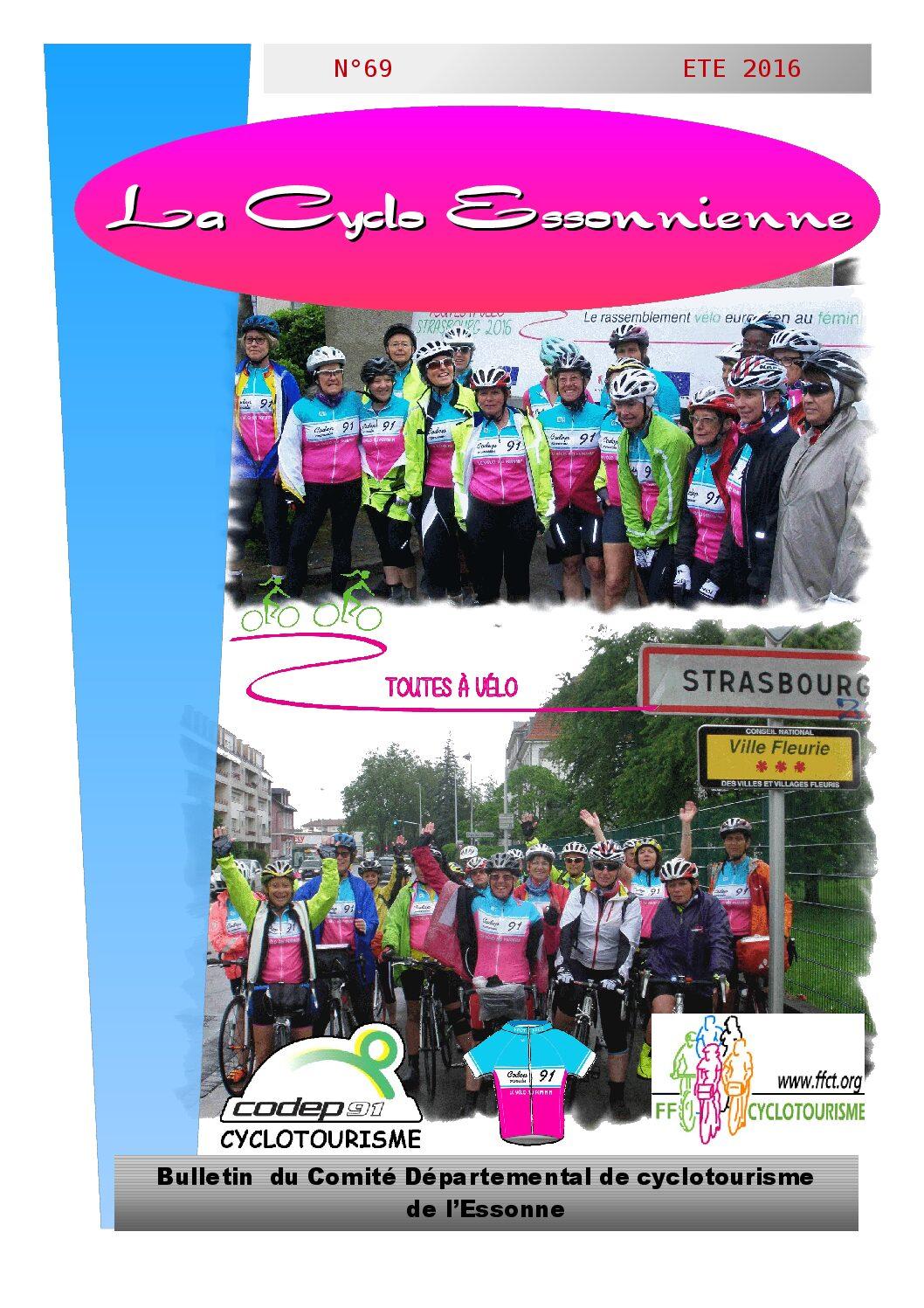 Le Cyclo Essonnien n°69