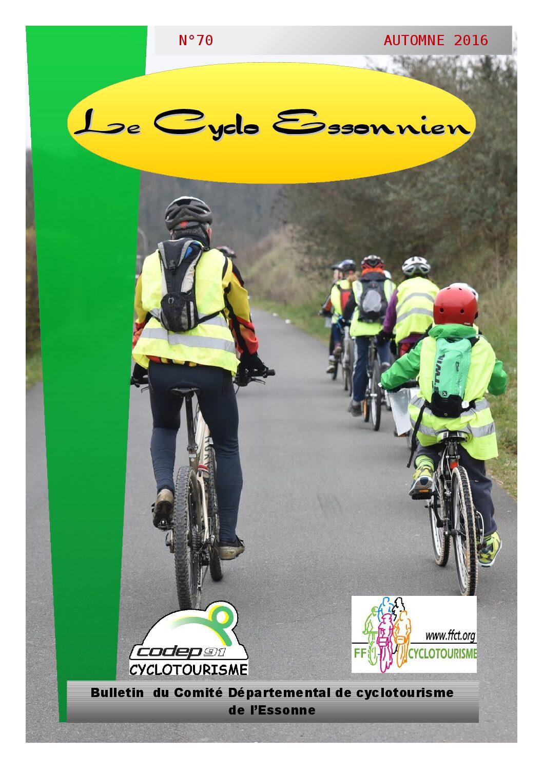 Le Cyclo Essonnien n°70