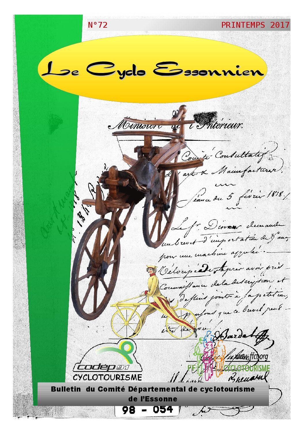 Le Cyclo Essonnien n°72