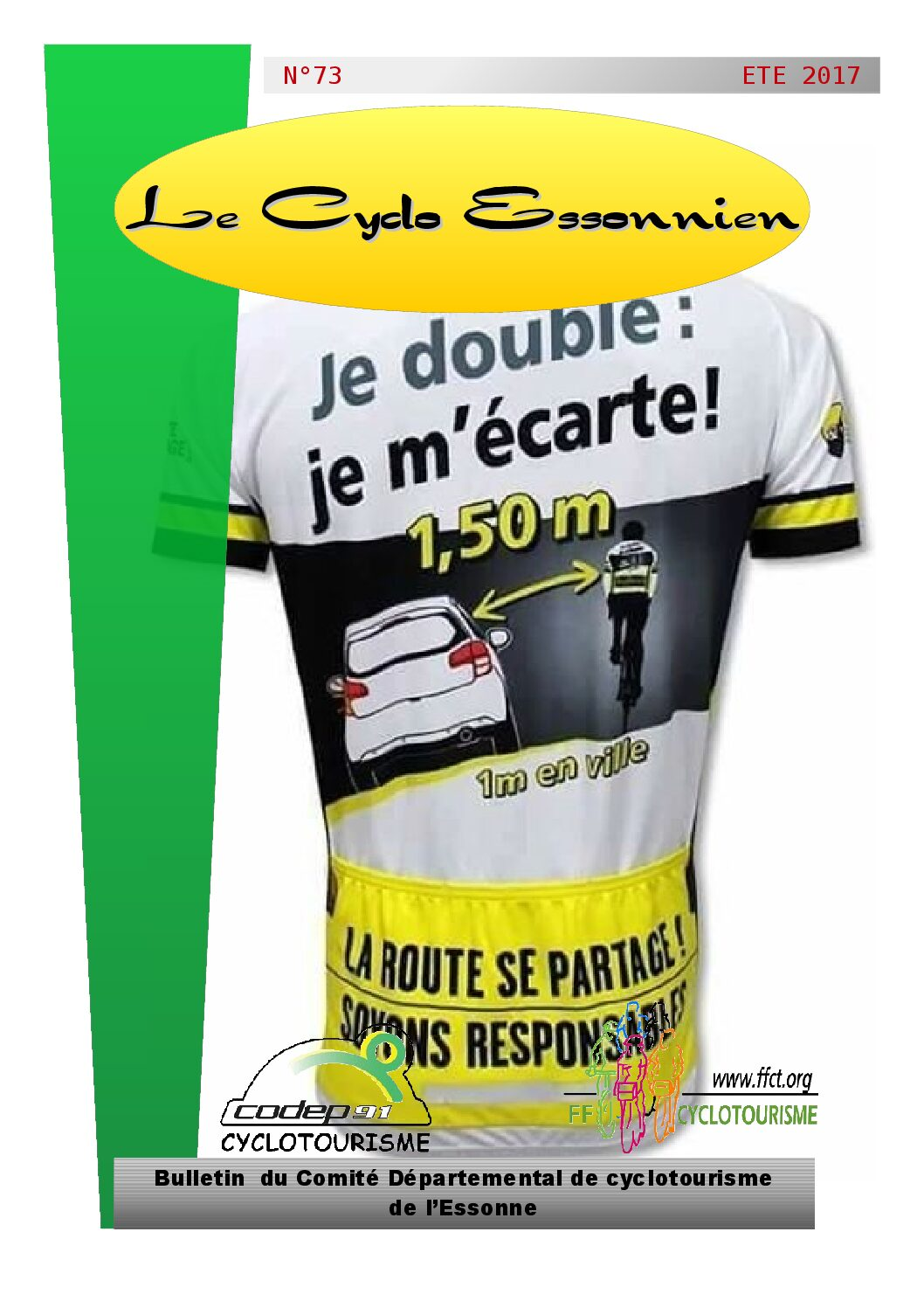 Le Cyclo Essonnien n°73