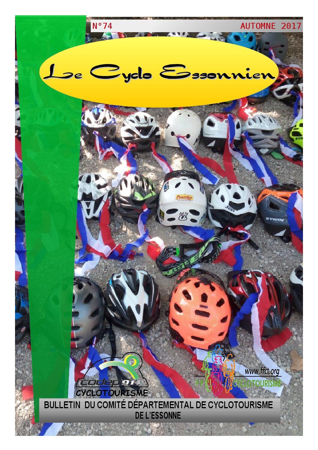 Le Cyclo Essonnien n°74