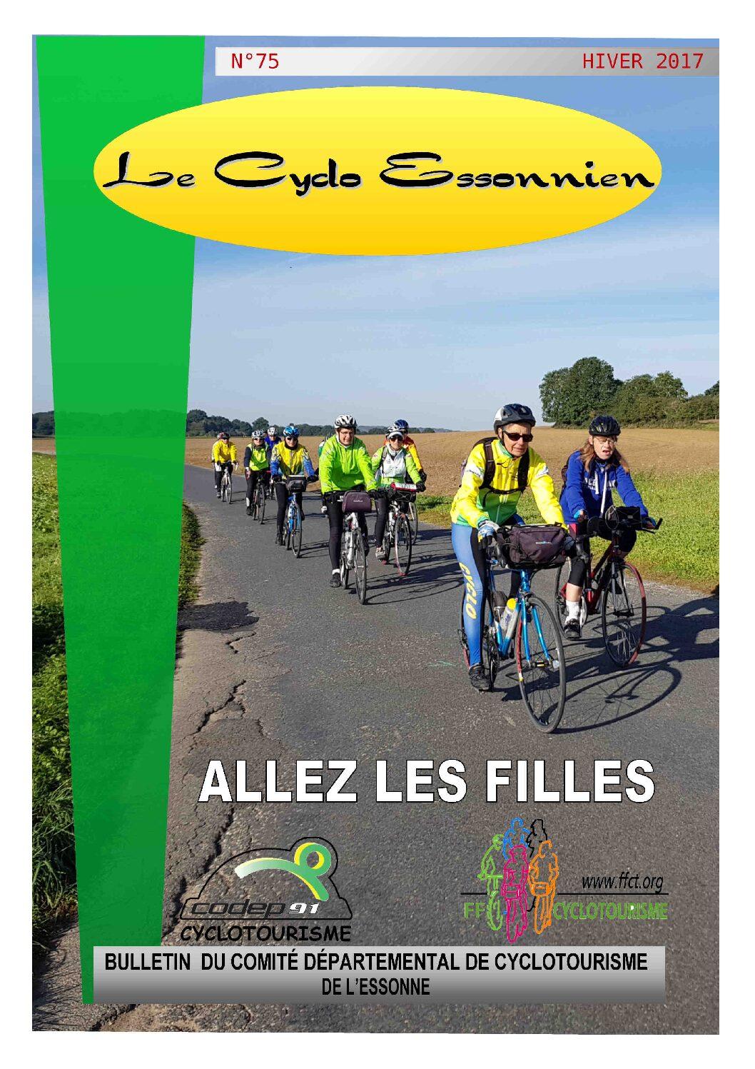 Le Cyclo Essonnien n°75