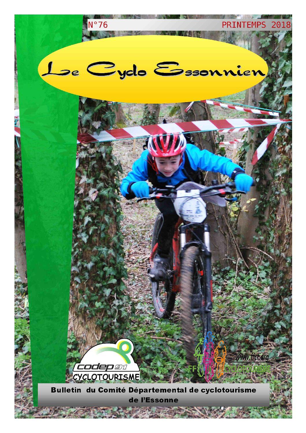 Le Cyclo Essonnien n°76