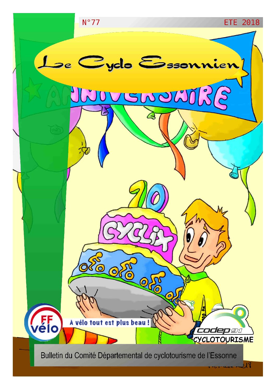 Le Cyclo Essonnien n°77