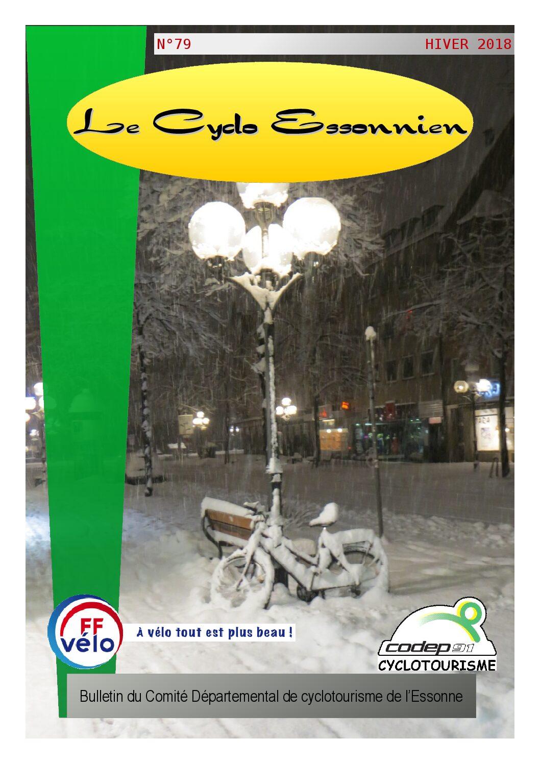 Le Cyclo Essonnien n°79