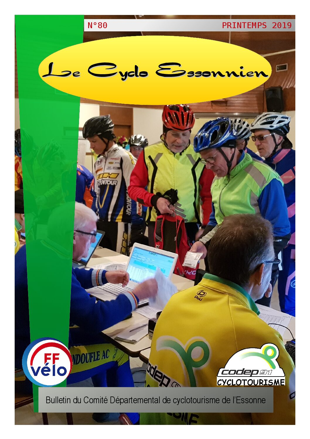 Le Cyclo Essonnien n°80