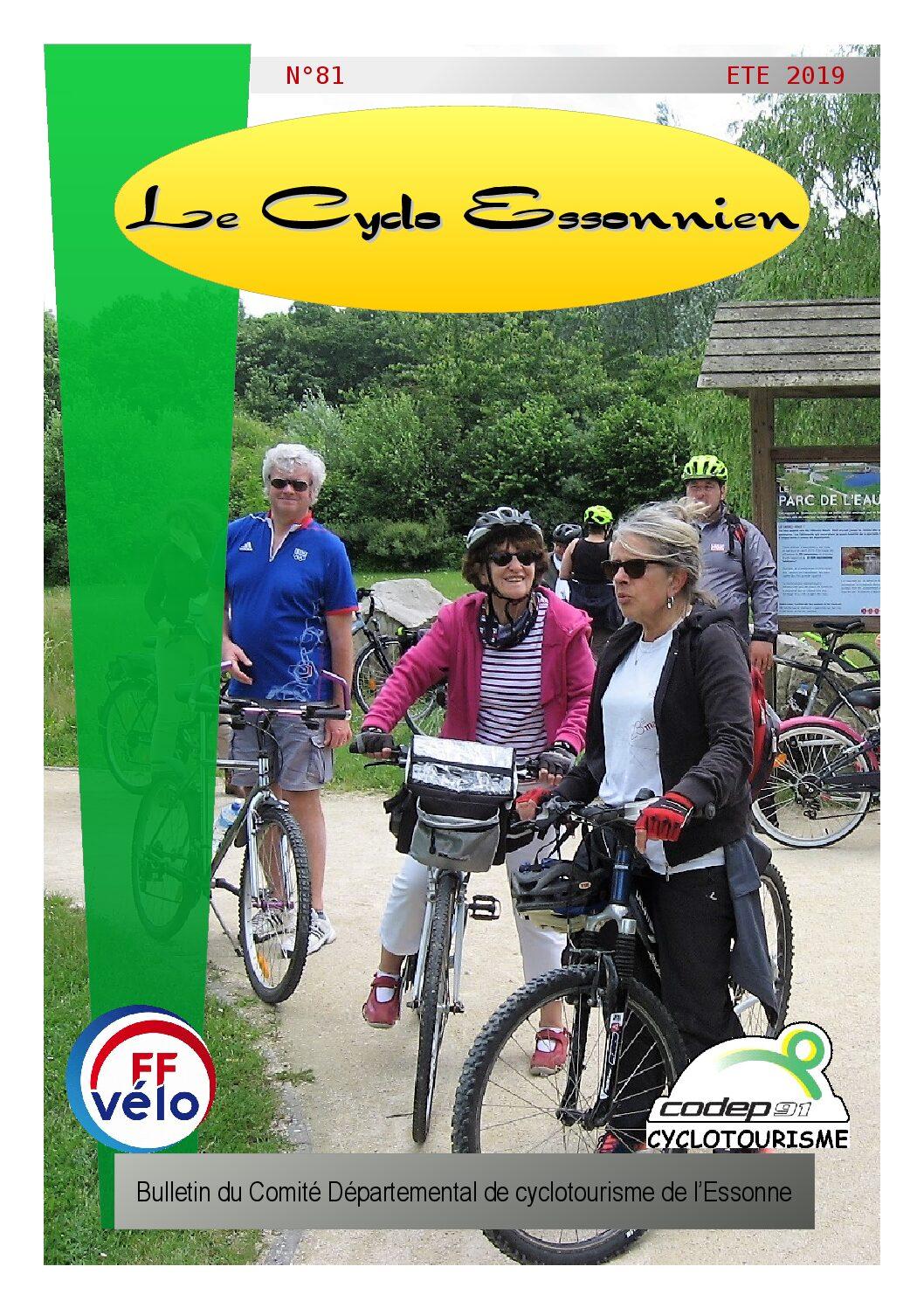 Le Cyclo Essonnien n°81