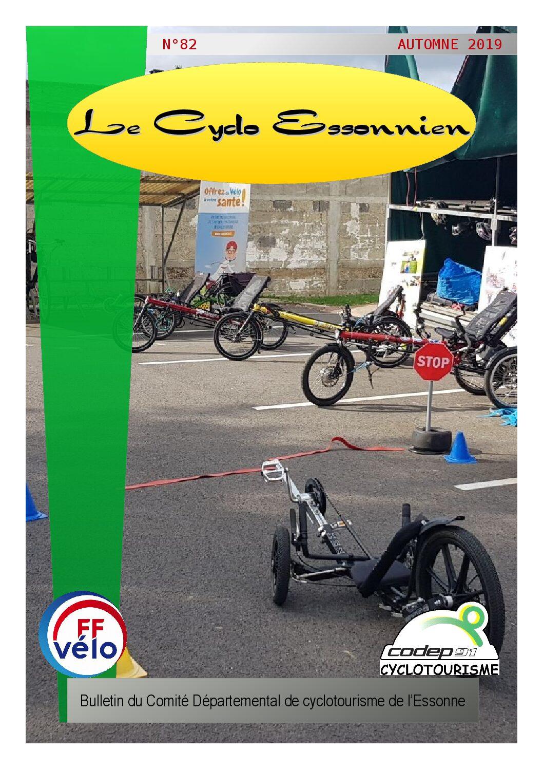 Le Cyclo Essonnien n°82