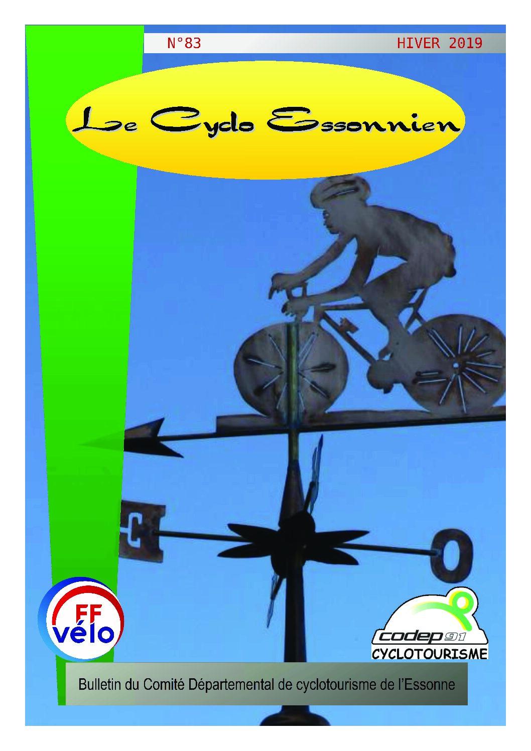 Le Cyclo Essonnien n°83