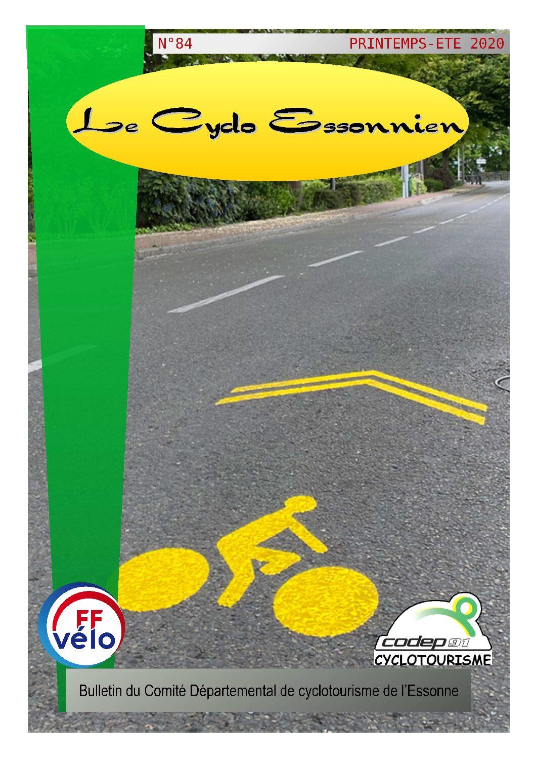 Le Cyclo Essonnien n°84