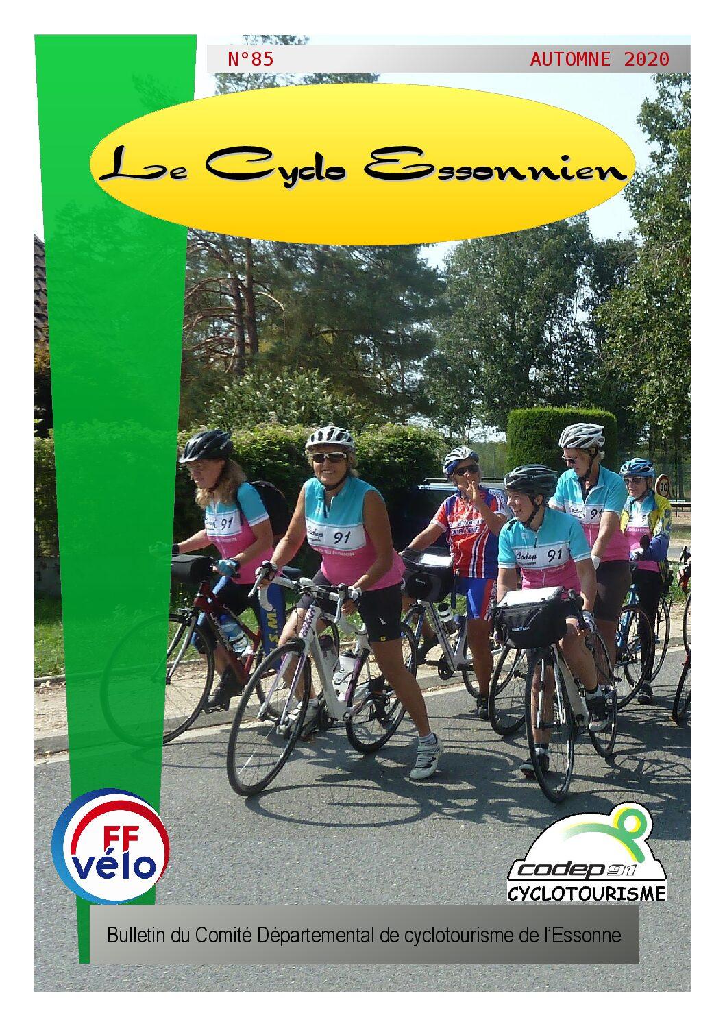 Le Cyclo Essonnien n°85