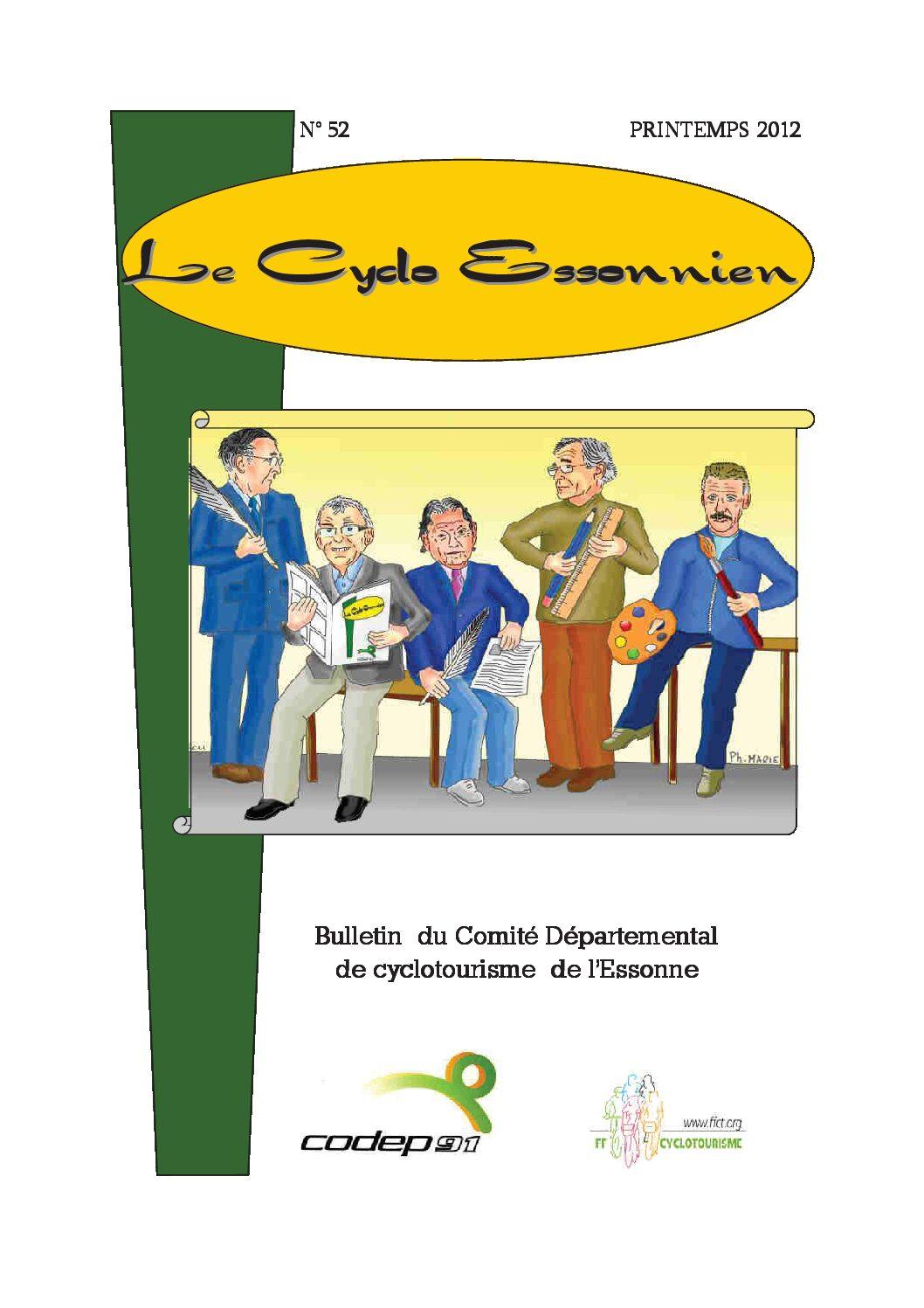 Le Cyclo Essonnien n°52