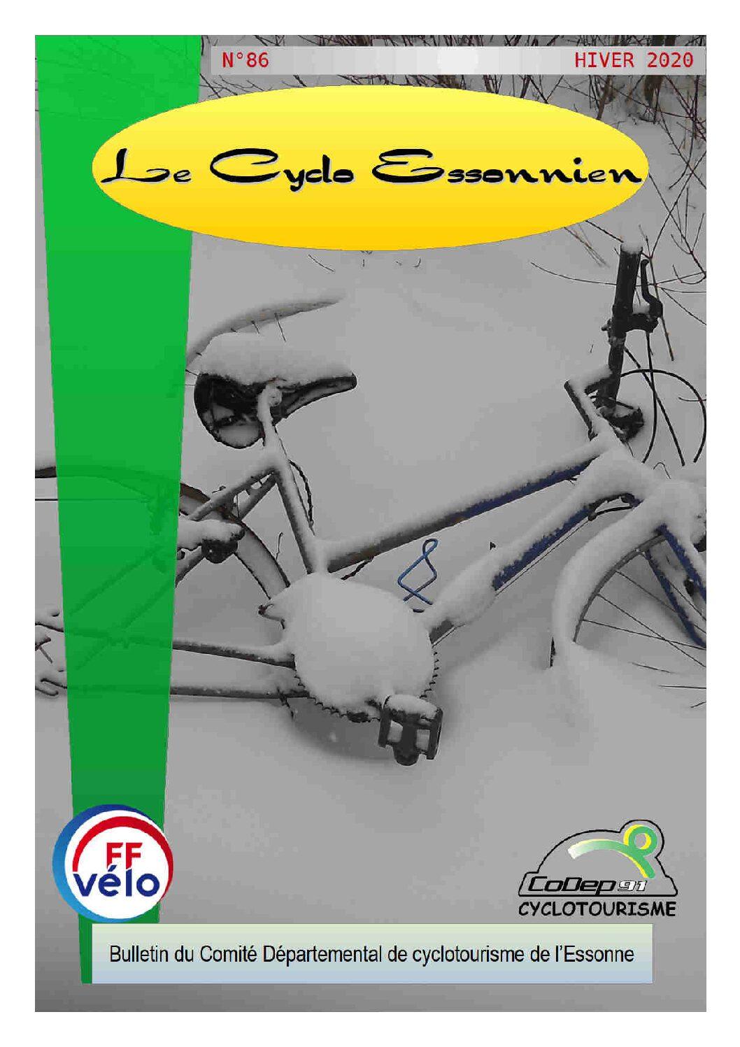 Le Cyclo Essonnien n°86